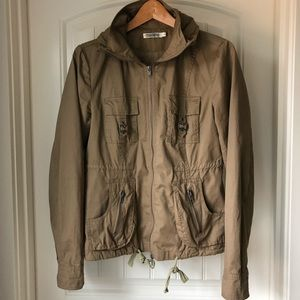 Monoreno cotton safari jacket